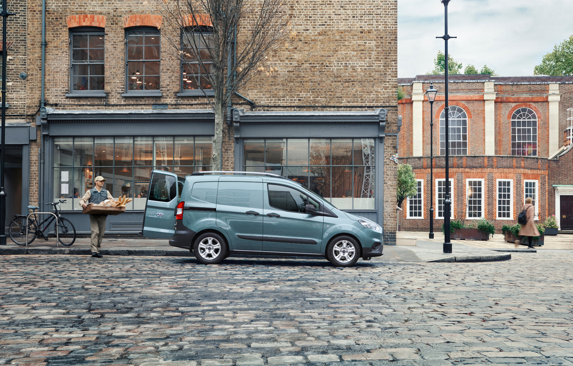 Ford Transit Courier at Finlay Ford