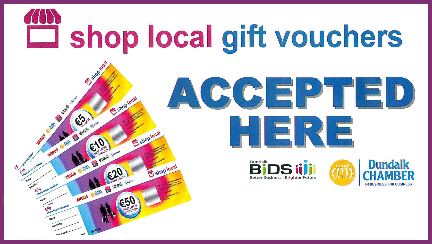 Dundalk Local Voucher