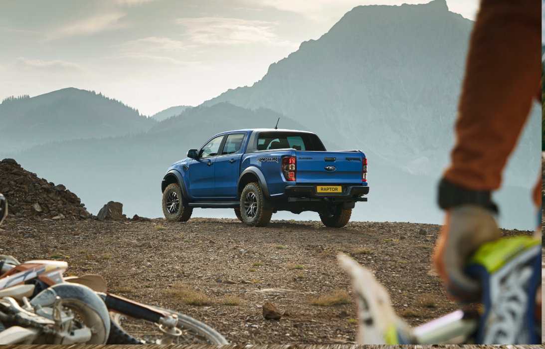 Ford Ranger Raptor at Dooley Motors