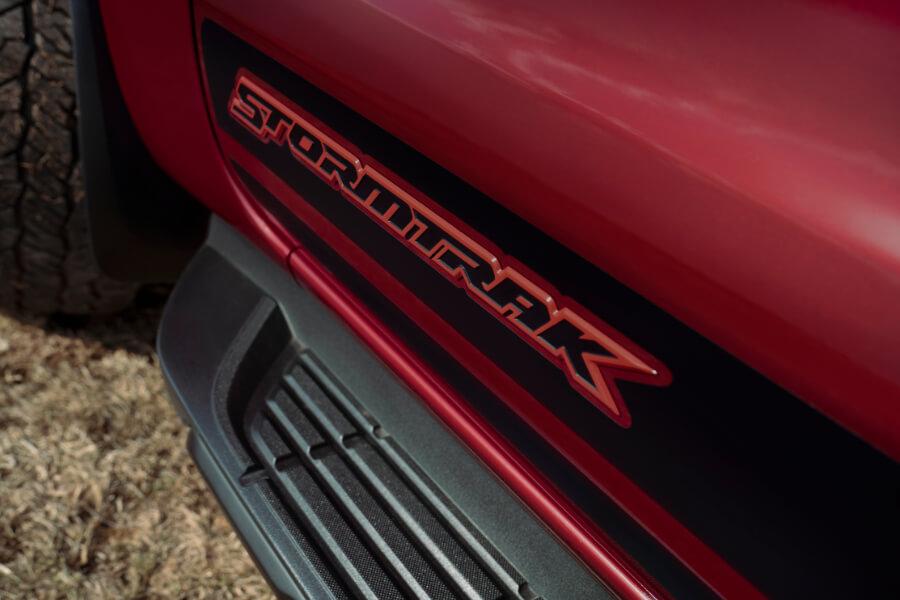 ranger stormtrak red logo