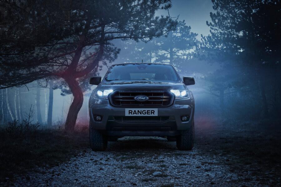 ranger wolftrak grey front  dawn mist