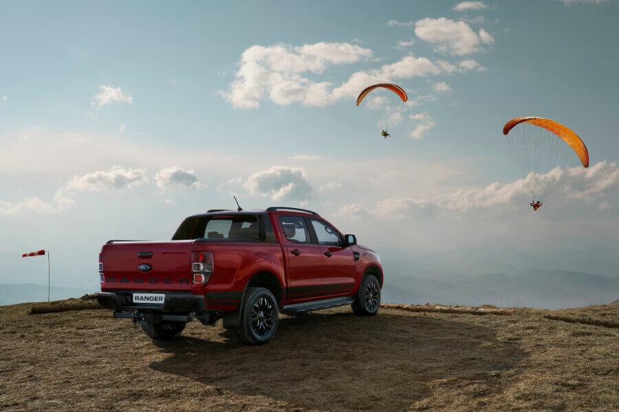 ranger stormtrak red landscape paraglide
