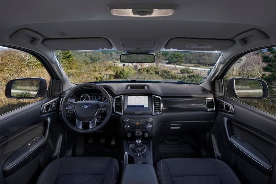 ranger wolftrak grey interior landscape