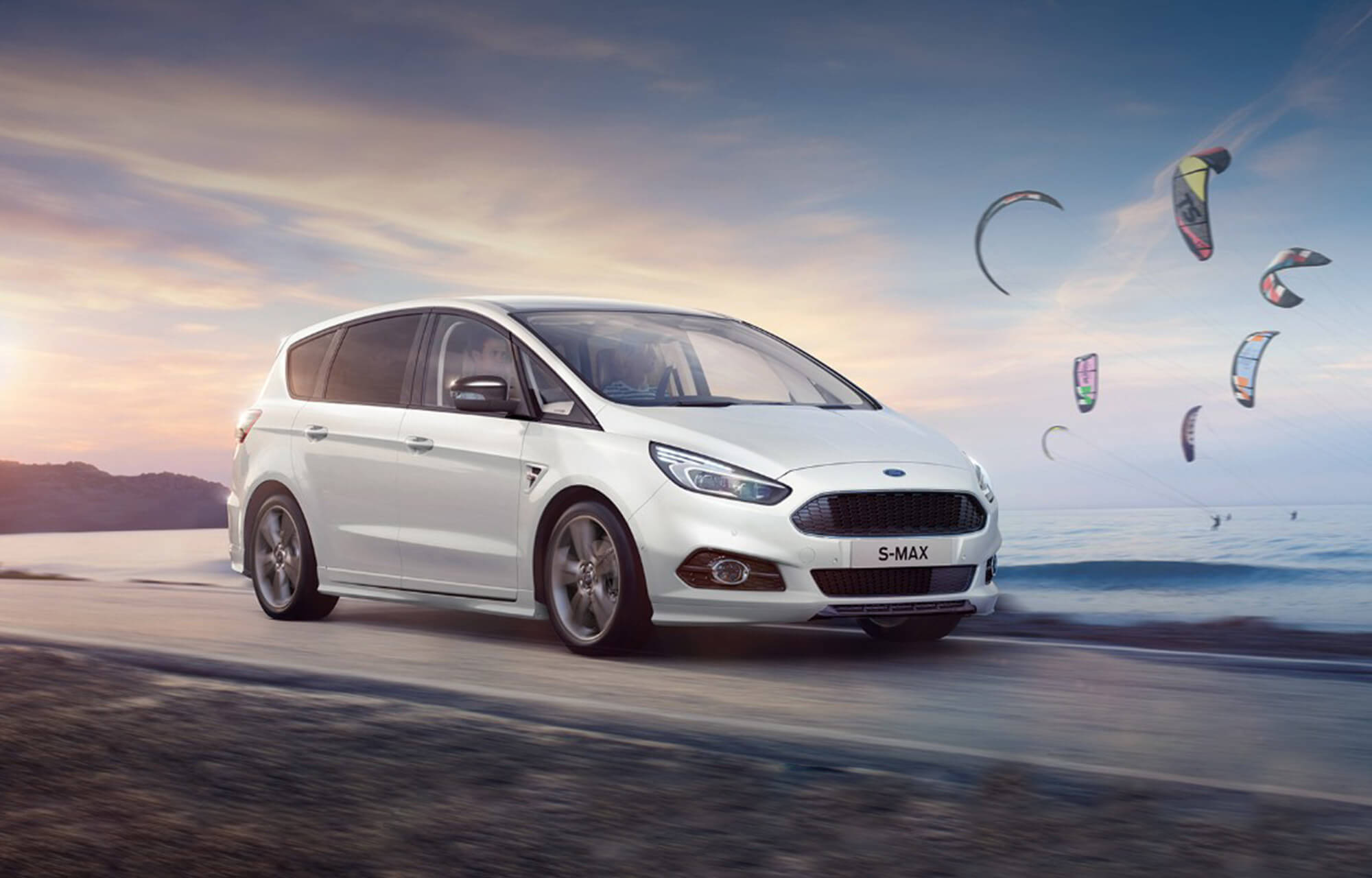 Ford S-Max at Porter Ford, Sligo