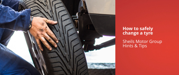 How to safely change a tyre