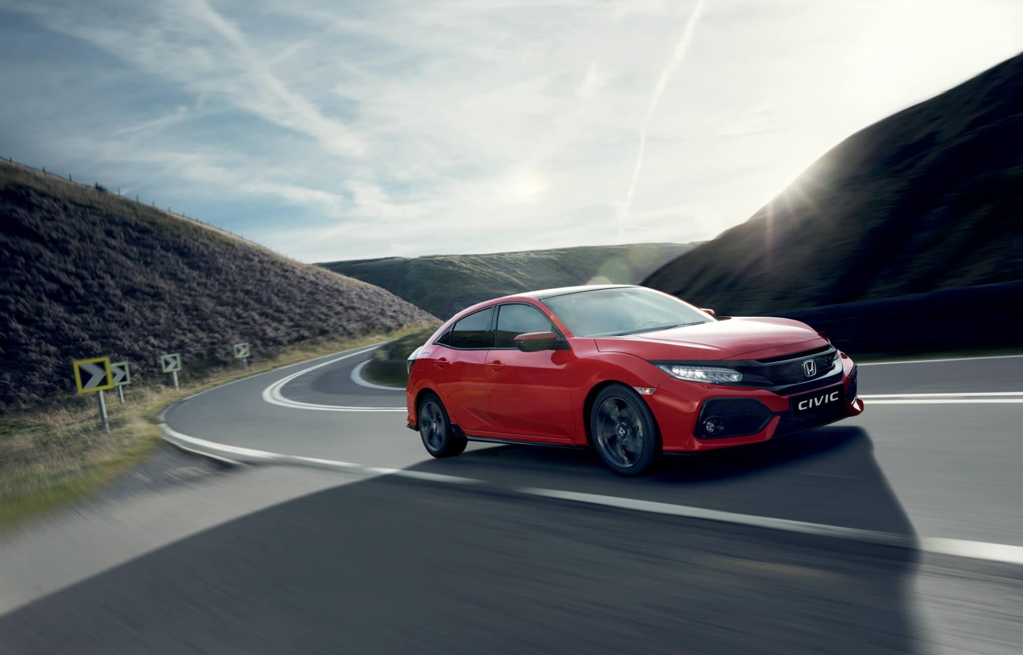 Order your new 2020 Honda Civic 5DR Hatchback today