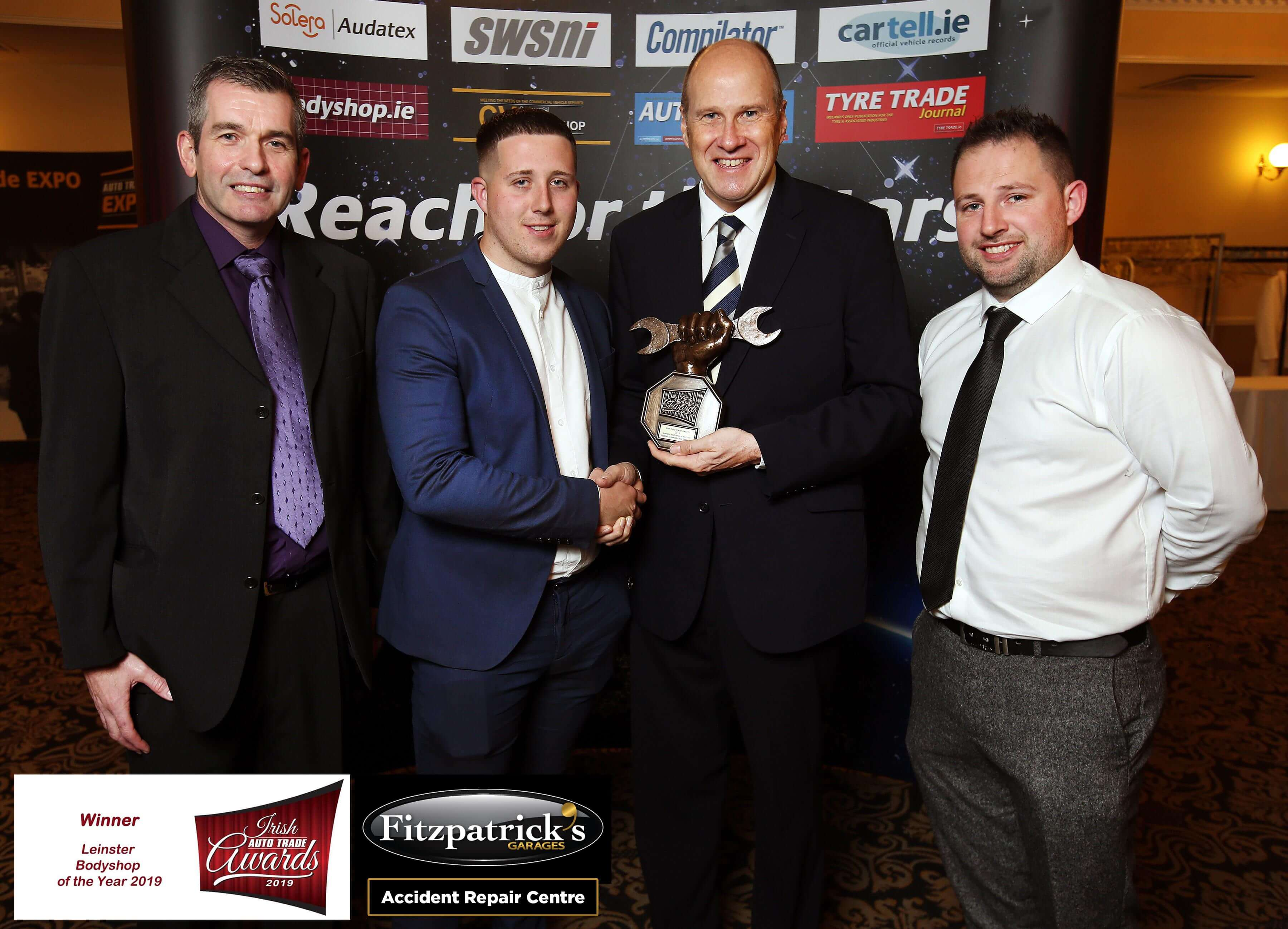 Leinster Bodyshop of the Year Award 2019