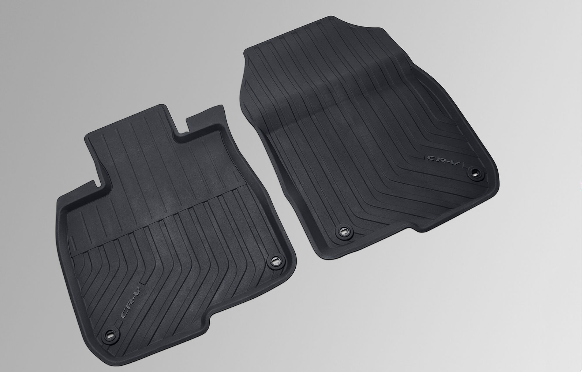 CR-V Rear Lipped Rubber Mats