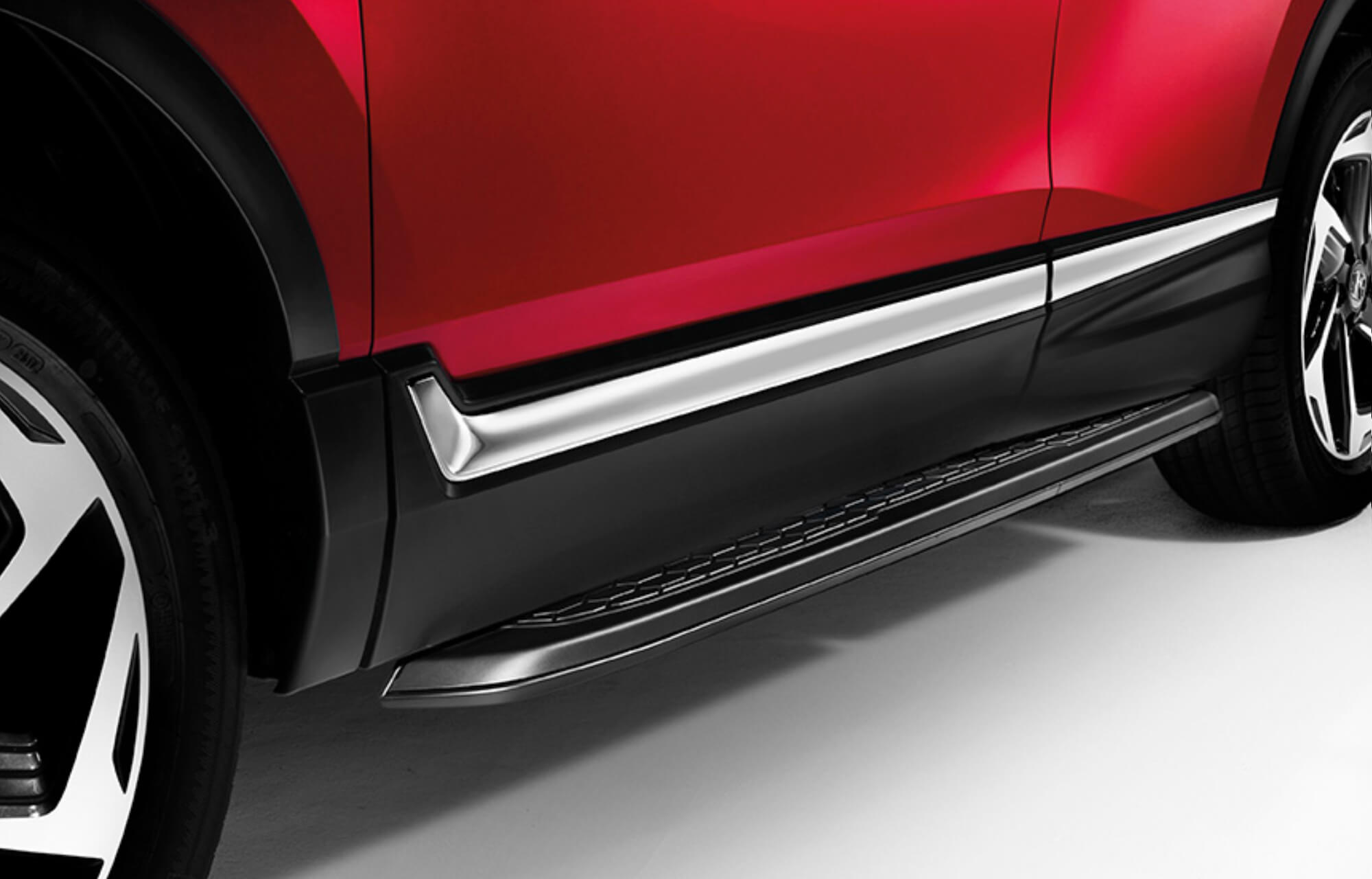 CR-V Black Running Boards