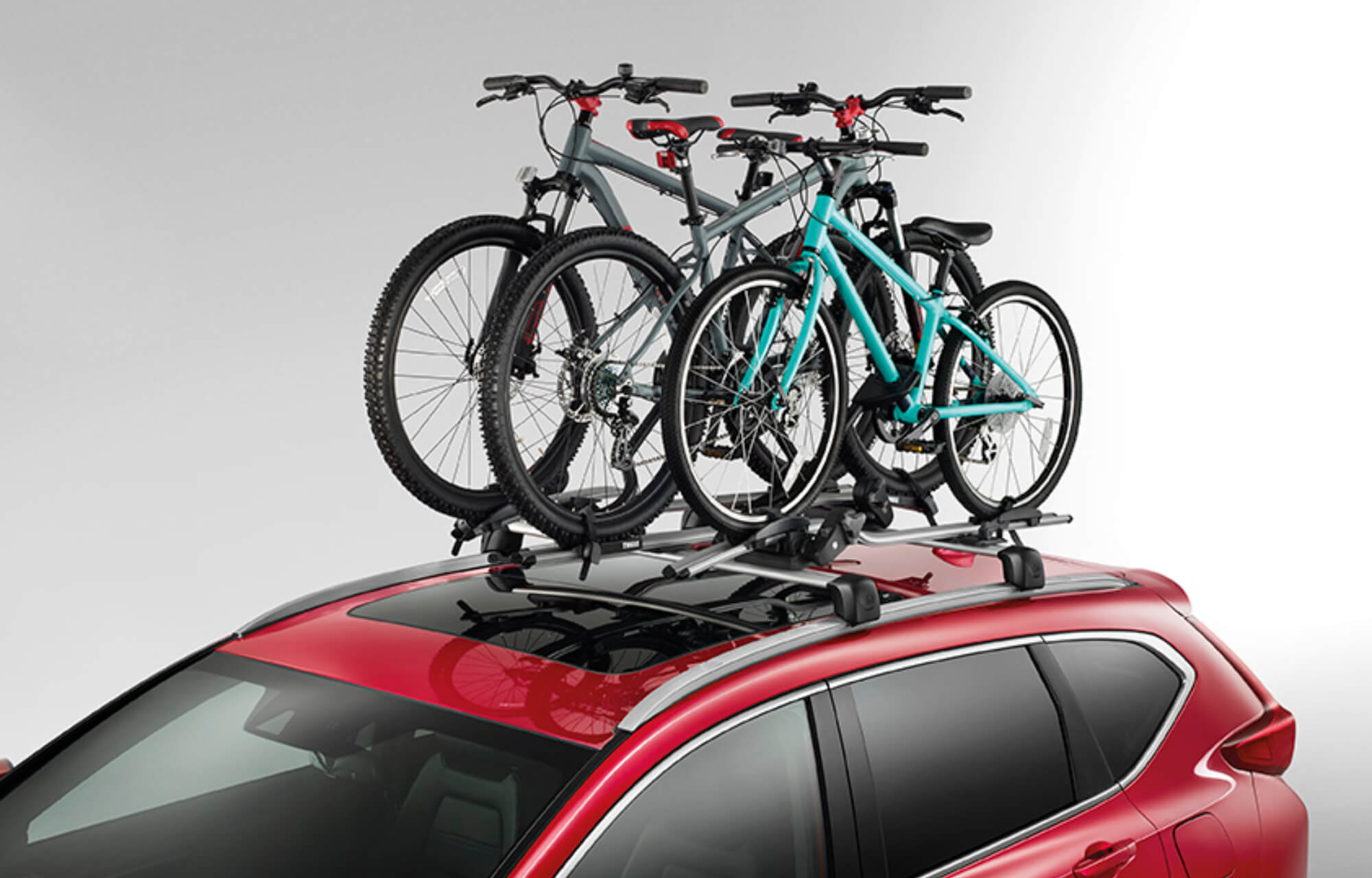 CR-V Thule Roof Bicycle Rack