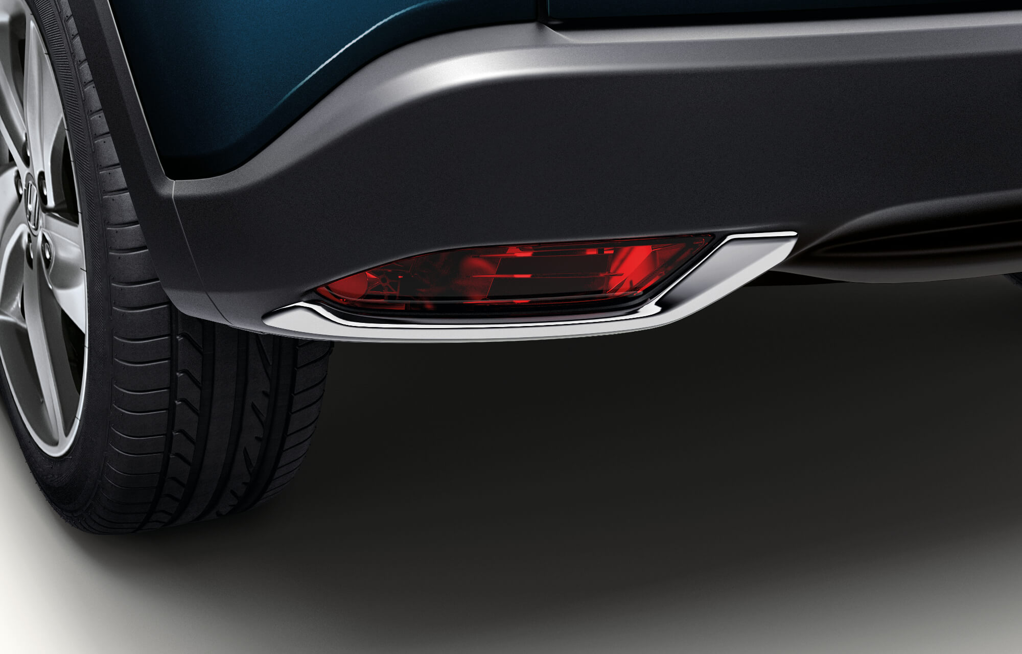 HR-V Rear Bumper Decoration