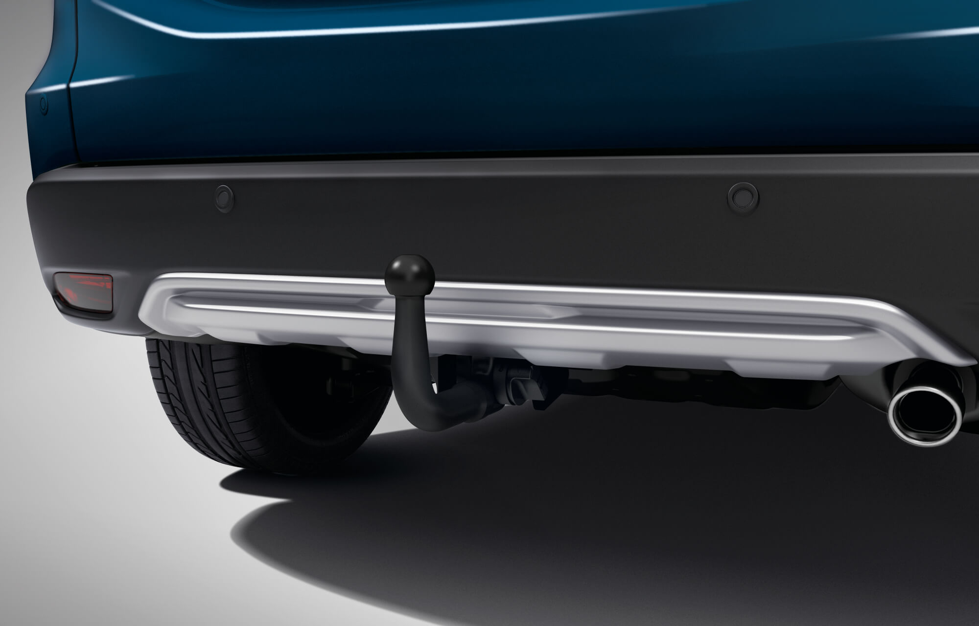 HR-V Detachable Tow Bar with 13-Pin Trailer Harness