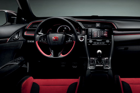 Honda Civic Type R Carbon Interior Pack