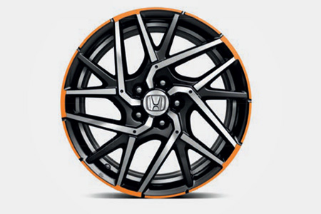 Honda Civic 5 Door Hexia Alloy Wheel