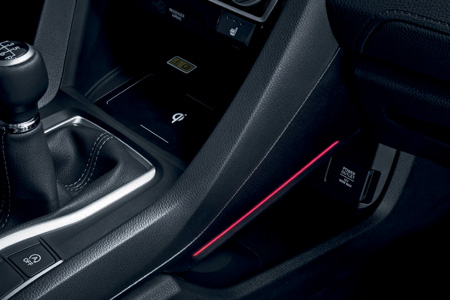 Honda Civic 5 Door Console Lighting - Sport