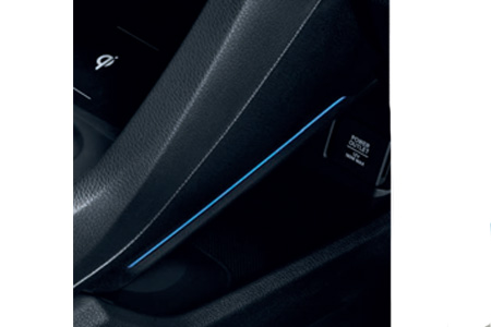 Honda Civic 5 Door Console Lighting