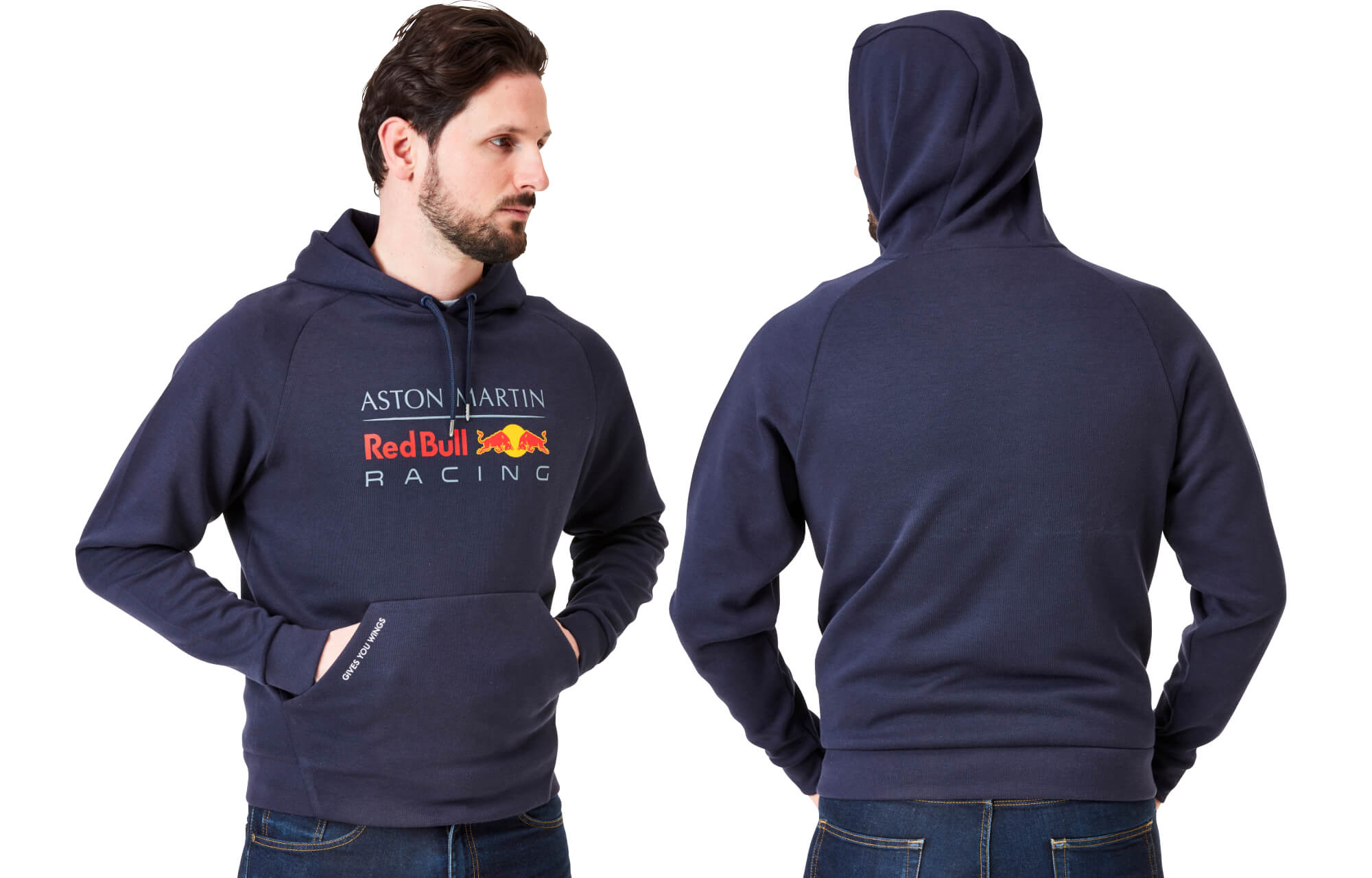 Men's Pull Over Hoodie Navy