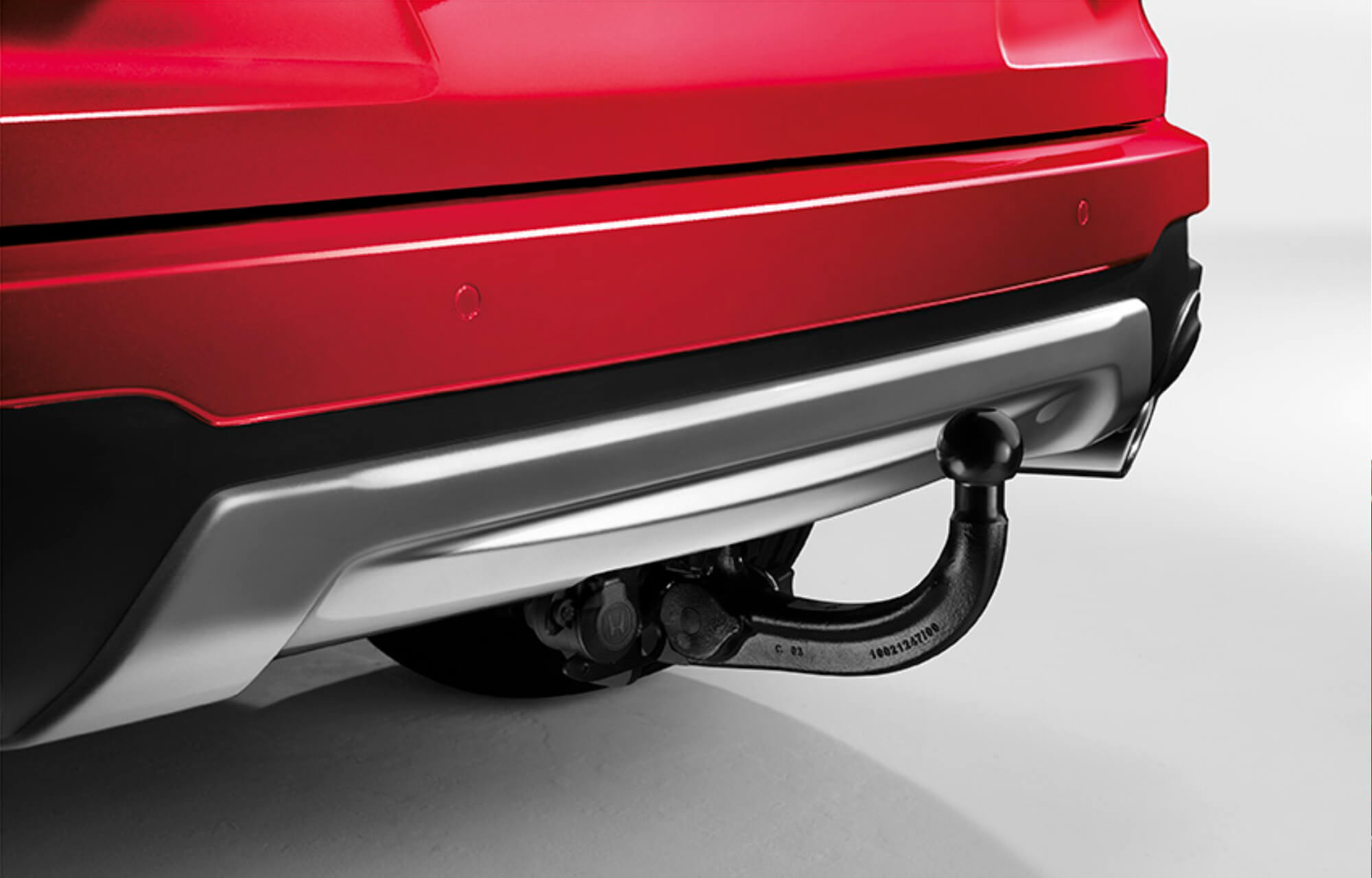 CR-V Retractable Tow Bar with 13-Pin Trailer Harness
