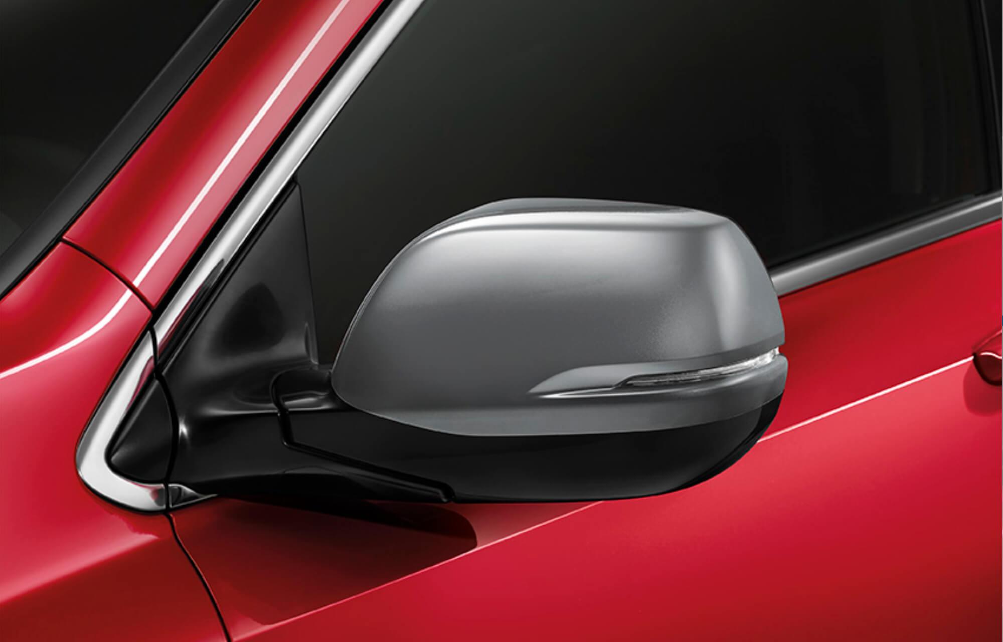 CR-V Mirror Caps (Asphalt Silver)