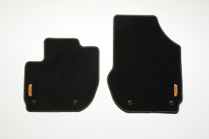 Jazz Hybrid Elegance Floor Mats - Fun Orange