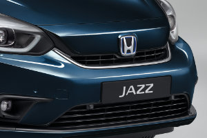 Jazz Hybrid Front Grille Decoration - Finesse