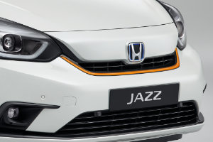Jazz Hybrid Front Grille Decoration - Fun Orange