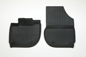Jazz Hybrid Front & Rear Lipped Rubber Mats