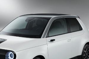 Honda e A-Pillar Decoration Nordic Silver