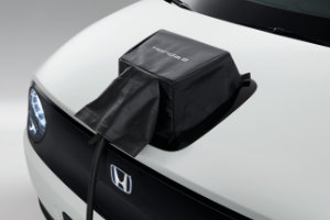 Honda e Charge Port Lid Cover