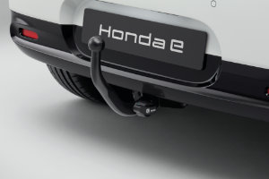 Honda e Detachable Bicycle Carrier Attachment with 13-Pin Trailer Harness