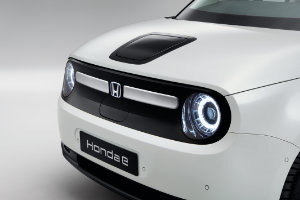 Honda e Front & Rear Grille Decoration Nordic Silver