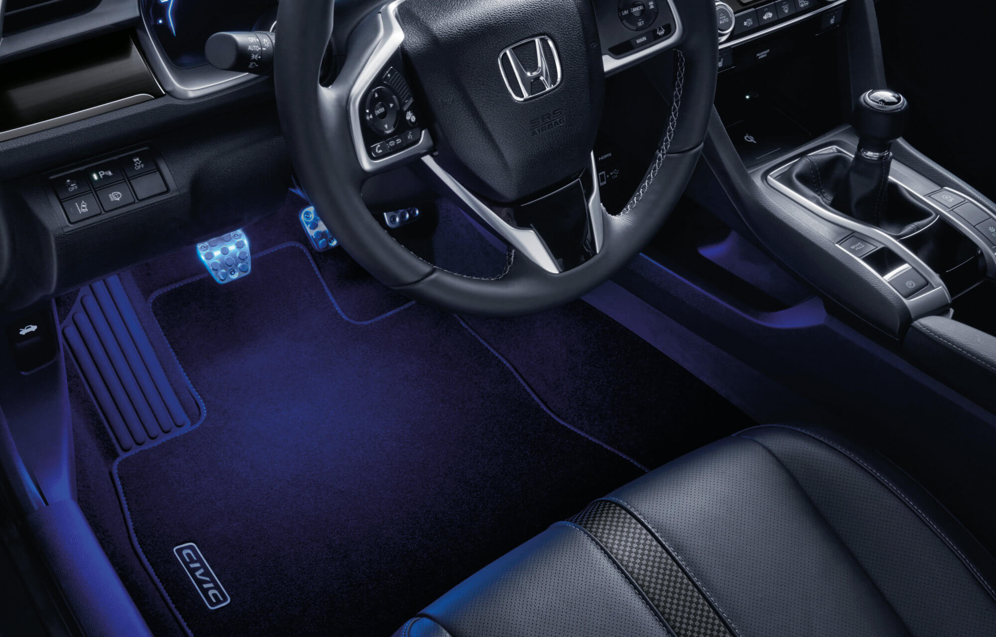 Honda Civic 5 Door Sedan Illumination Pack