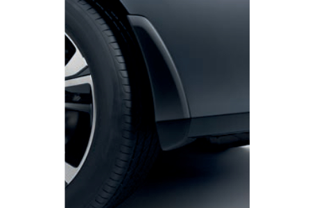 Honda Civic 4 Door Sedan Front and Rear Mud Flaps