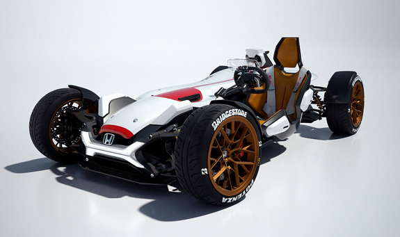 Honda Project 2&4 powered by RC213V Concept