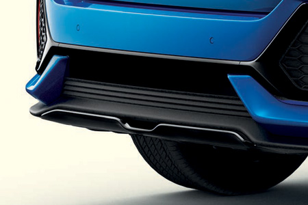 Honda Civic 5 Door Rear Diffuser