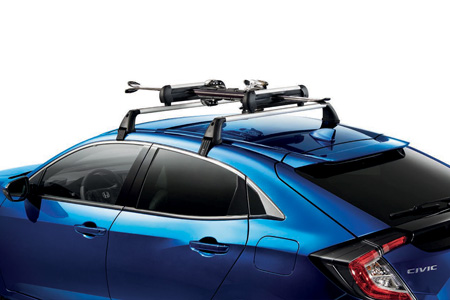 Honda Civic 5 Door Ski and Snowboard Attachment