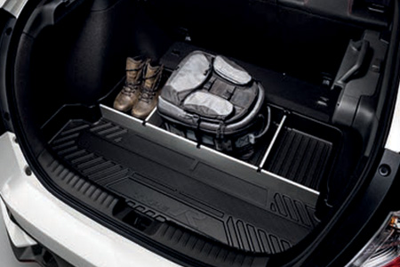 Honda Civic Type R Boot Tray with Dividers