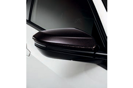 Honda Civic Type R Carbon Door Mirror Caps