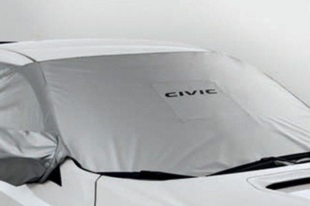 Honda Civic Type R Carbon Windshield Cover