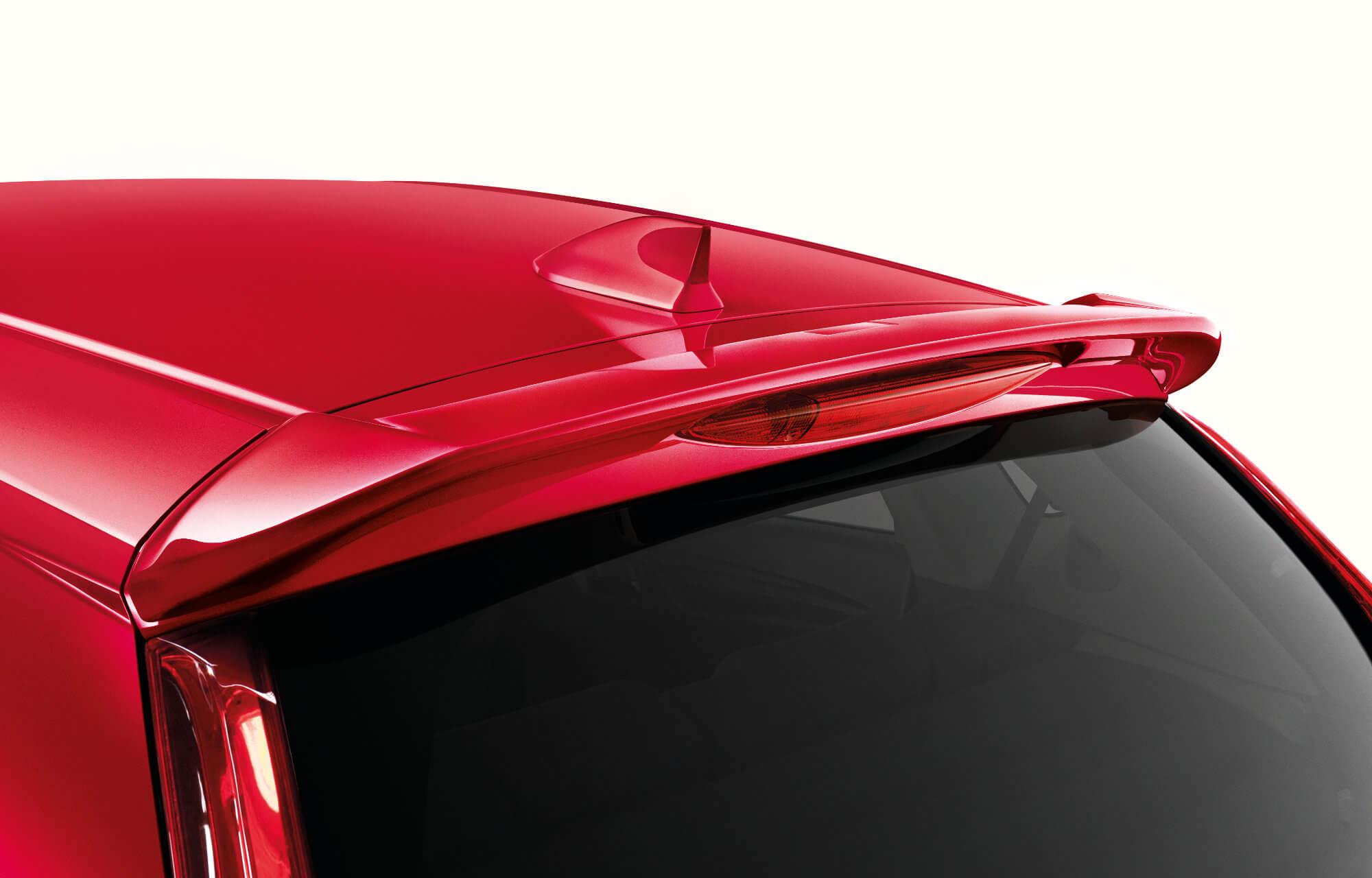 Honda Jazz Tailgate Spoiler
