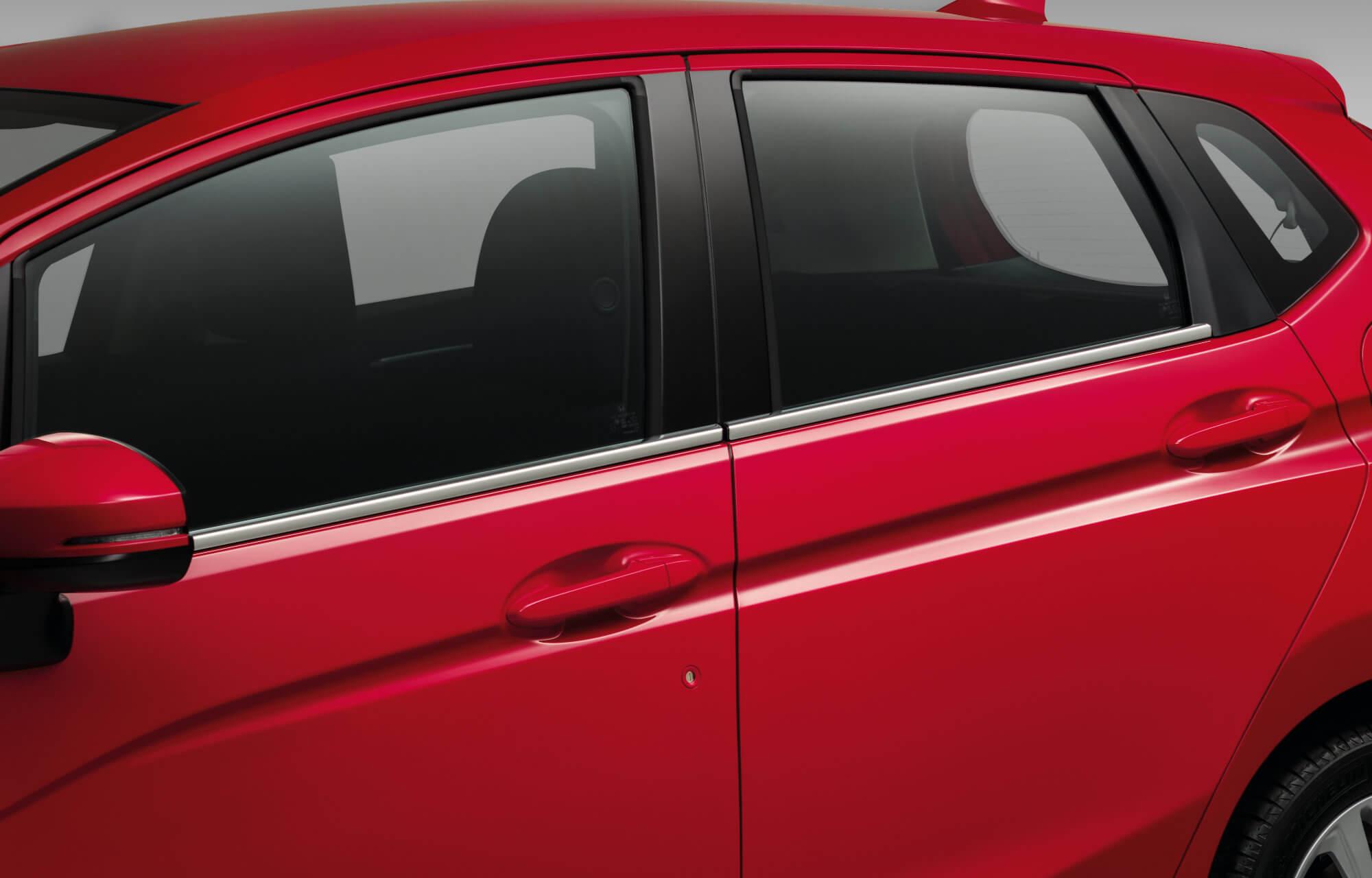 Honda Jazz Window Decoration