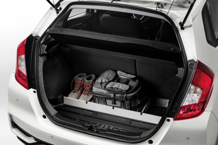 Honda Jazz Boot Tray with dividers