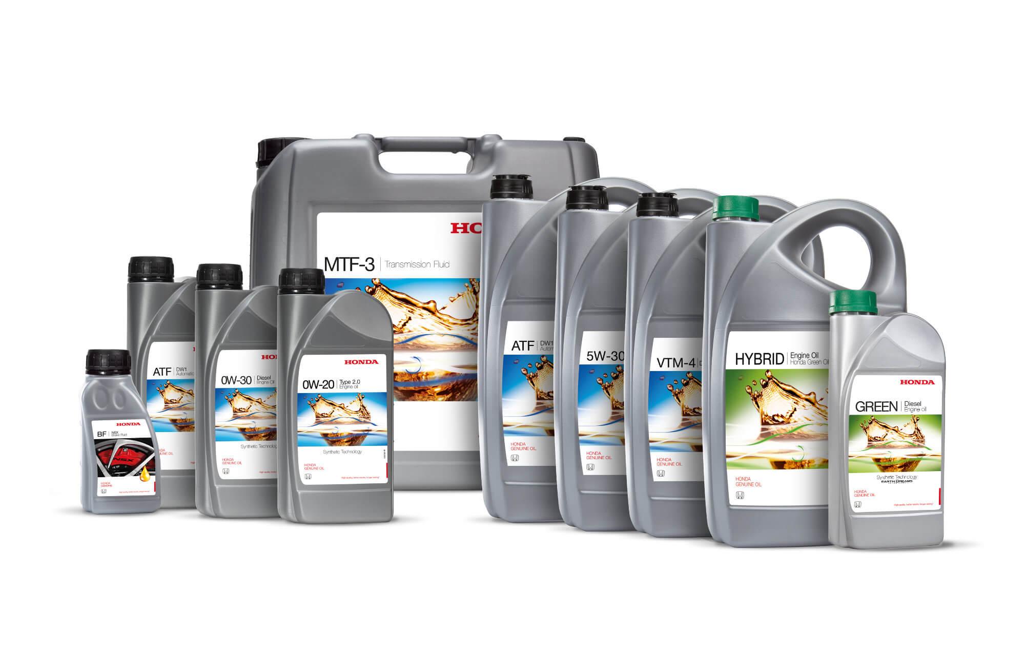 Honda Genuine Oils & Fluids