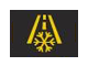 Caution icy road possible