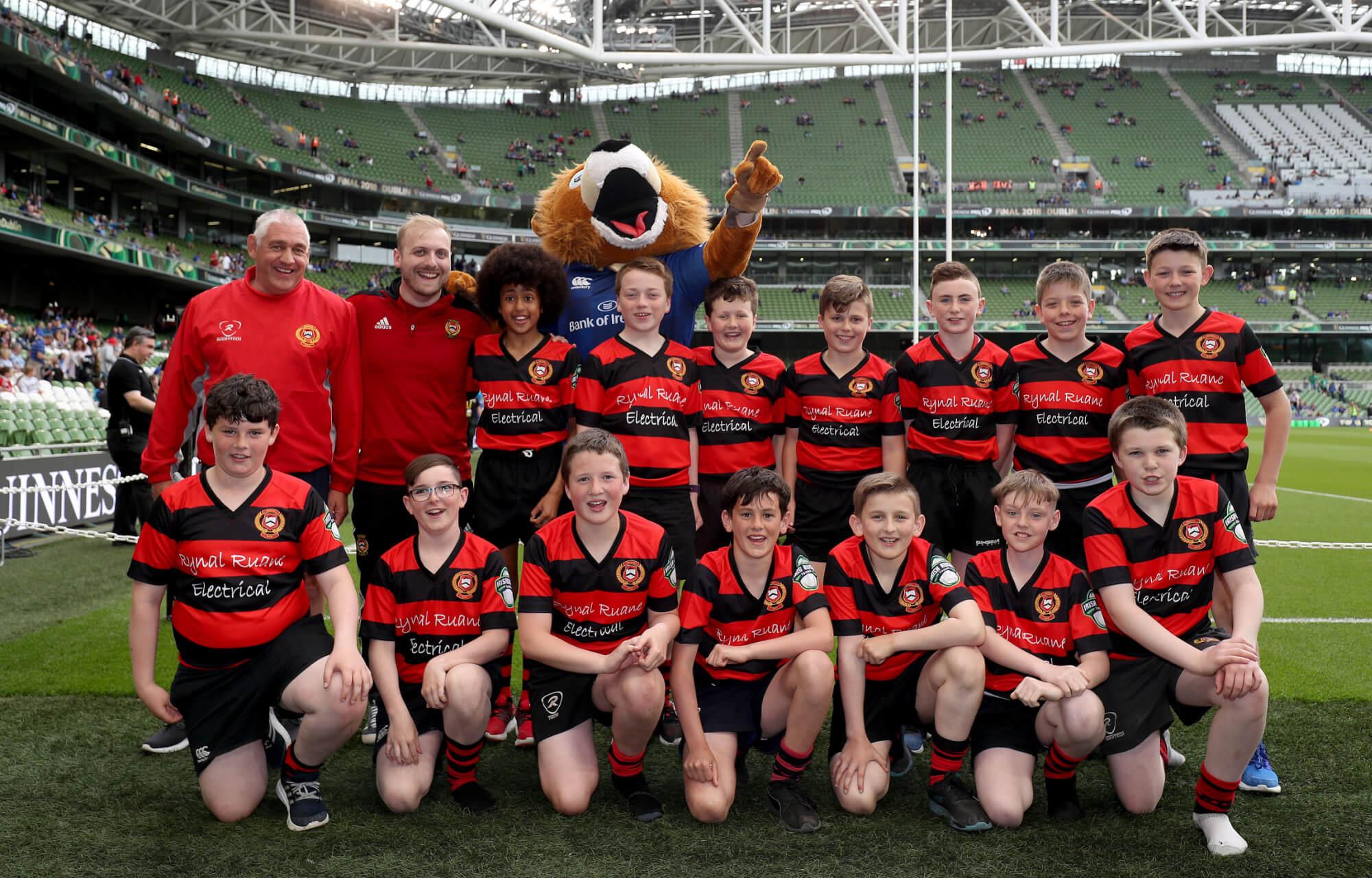 Monivea Pro14 Rugby Team at Aviva Stadium
