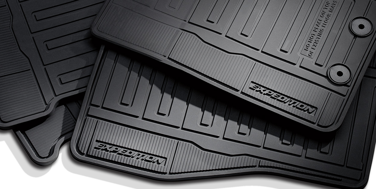 Expedition Floor Mats, All Weather
