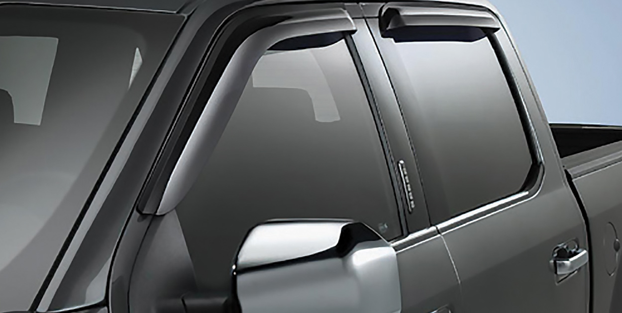 F-150 Deflectors, Side Window by Lund