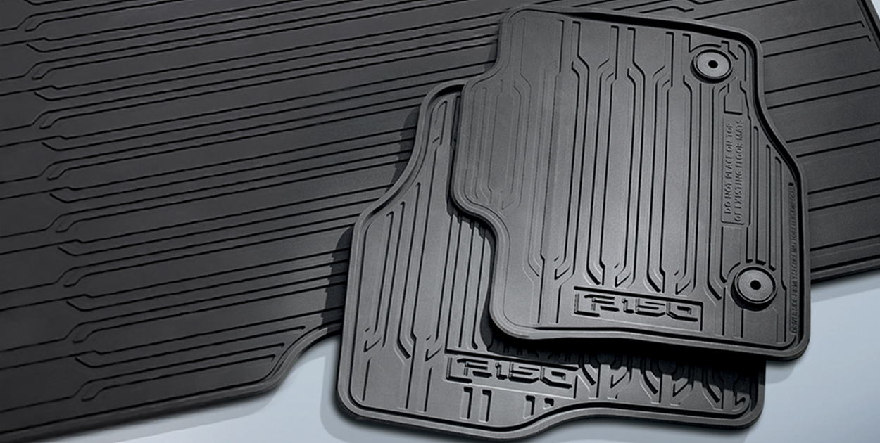 F-150 Floor Mats, All-Weather