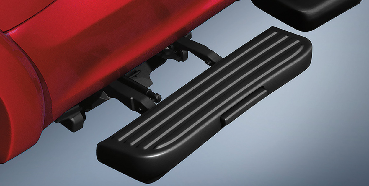 F-150 Side Steps, Retractable (Driver Side)