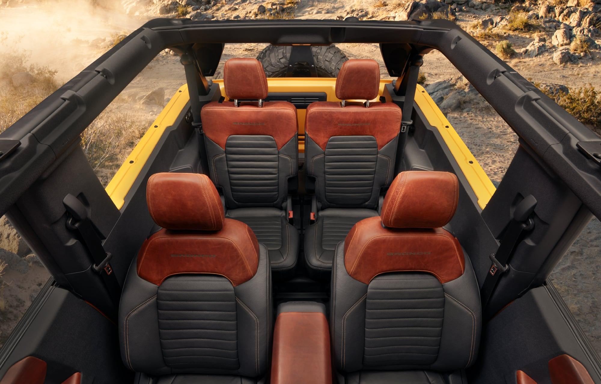 Ford Brinco Interior